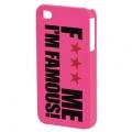 FMIF oklop za IPhone 4, Lips, pink