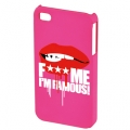 FMIF oklop za IPhone 4, Lip, pink