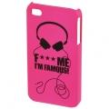 FMIF oklop za IPhone 4, Heads, pink