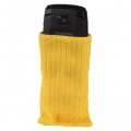 Torbica za mob. tel. čarapa, žuta