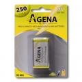Baterija punjiva Agena Energy 9V 250mah