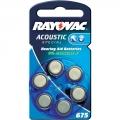 Baterija Rayovac 675 Acoustic  PR44 1.4V za slušne aparate