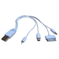 Adapter Xwave 020820 Kabl za dodatnu bateriju 4 u 1 /iPhone4/Micro USB/Mini USB/tablet