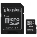 Kingston Micro SD 32GB Klasa 4 Memorijska kartica + SD adapter