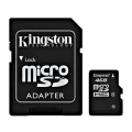 Kingston Micro SD 4GB Klasa 4 Memorijska kartica + SD adapter