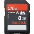 SanDisk SD 8GB Ultra II 30Mb/s