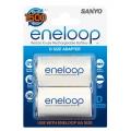 Sanyo Eneloop adapter R6-R20  AD-D-2BP